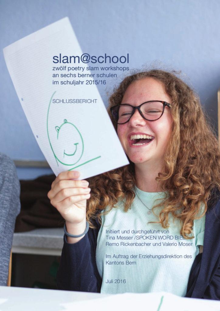 Schlussbericht Slam at School 2015/2016