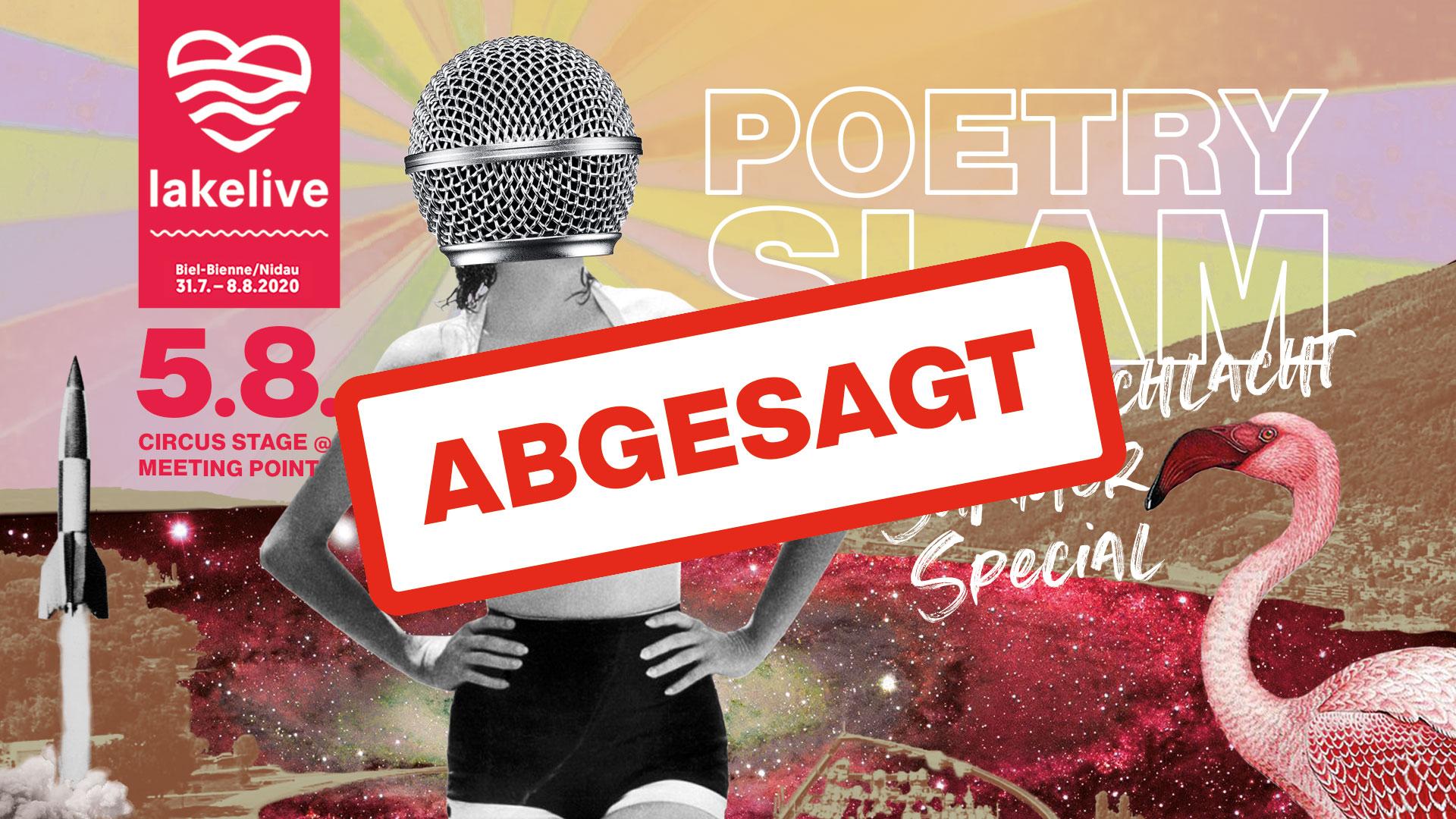Dichterschlacht Lakelive 05.08.2020 - abgesagt