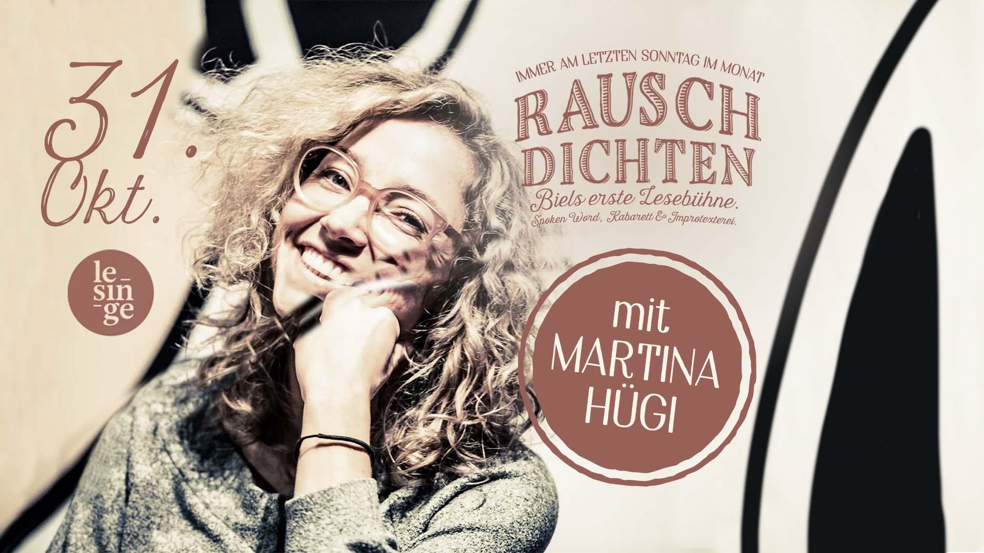Rauschdichten mit Martina Hügi