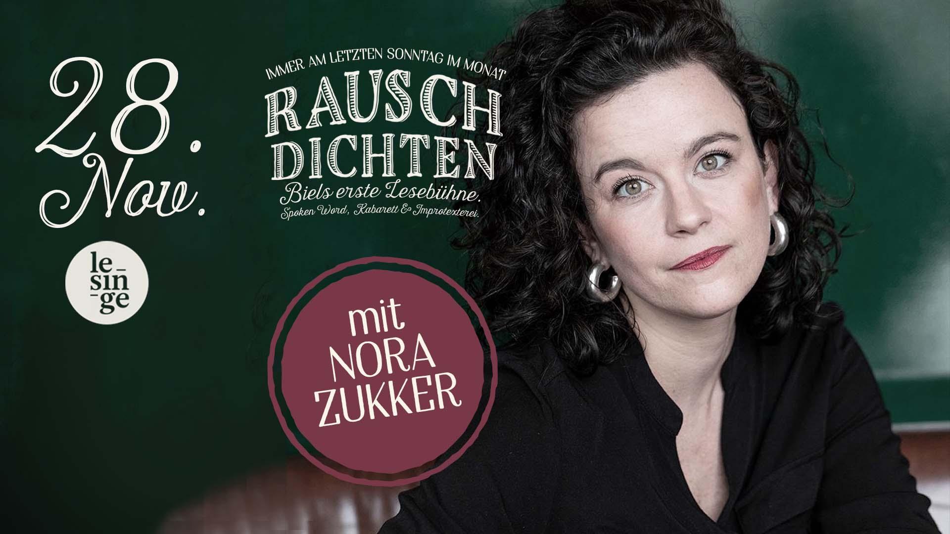 Rauschdichten mit Nora Zukker